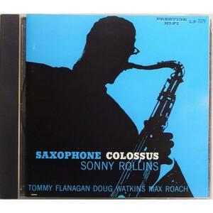 Sonny Rollins / Saxophone Colossus ◇ ソニー・ロリンズ / サキソフォン・コロッサス ◇ 国内盤 ◇ モダン・ジャズ代表的名盤 ◇2894