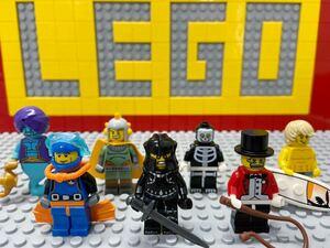 ☆ミニフィギュアシリーズ☆ レゴ ミニフィグ ダイバー 悪の騎士 サーカス団長 ランプの精霊 など ( LEGO 人形