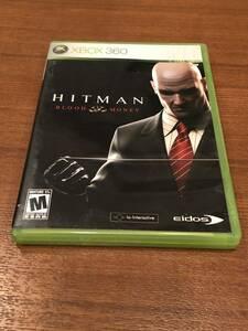 送料無料 Xbox360 ★ヒットマン ブラッドマネー 海外版★Xbox one/series X下位互換対応済 Used☆HITMAN blood money☆