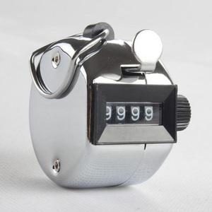 数取器 手動式カウンター 4桁 0~9999 軽量 イベントなどの人数統計に 交通量調査 荷揚作業にも リセット可