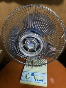 扇風機 昭和レトロ 卓上扇風機 SF-30T 美品 セイワ [20/2 J-U]