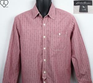 《郵送無料》■Ijinko★エディーバウアー Eddie Bauer ★ XS サイズ長袖シャツ