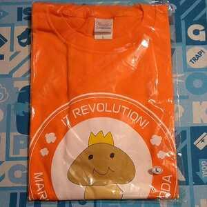 Inoue Marina & Asami Shimoda IT Revolution T-shirt L Saizoko Oji Unopened New Orange Science Museum Event Limited