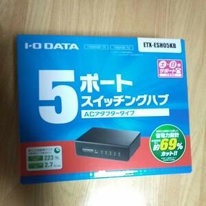 I・O DATA ETX-ESH05KB WiFi