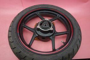 即決 ハイグリップ GT601 純正 バリ山 ニンジャ250R Ninja250R Special Edition リア タイヤ ホイール ホイル EX250K 160EAi1