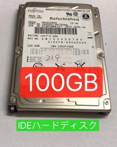 2160150* б/у инспекция settled * использование меньшее персональный компьютер хранение MHV210RAH 100GB IDE жесткий диск