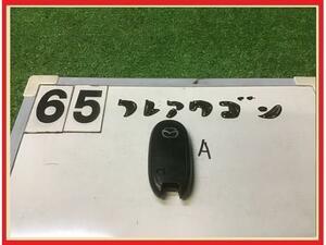 【送料無料】MM21S フレアワゴン 純正 スマートキー/キーレス/リモコンキー A 片側パワスラ用 3ボタン パレット
