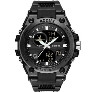 メンズ 腕時計 スポーツ 30M防水 エレクトロニクス クロック デジタル アウトドア アーミー ミリタリー カジュアル LED s0055