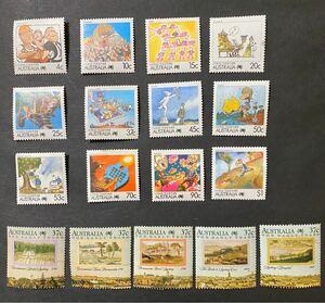 外国切手 未使用 オストラリア 17種 額面割れ