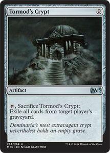 え銀 トーモッドの墓所 1枚(4枚在庫s 英 良品 M15)/Tormod's Crypt(MTG /マジック基本セット2015/Magic 2015/)