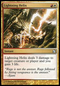 え金 稲妻のらせん 1枚(1枚在庫s 英 良品 MMA)/Lightning Helix(MTG /モダンマスターズ/Modern Masters/モダマス/)
