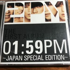 01:59PM〜JAPAN SPECIAL EDITION〜(初回生産限定盤)