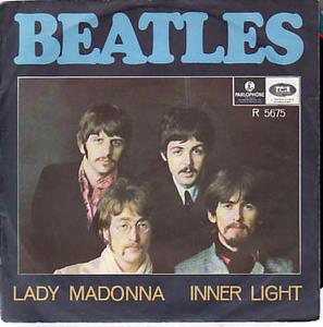 2380●7' レアSWEDEN盤!Beatles / Lady Madonna!おまけ付き!68年 ビートルズ John Lennon George Harrison Paul McCartney Ring Starr