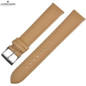 ユンハンス マックスビル用 純正 替ベルト 新品 18mm ベージュ レザー 革ベルト 腕時計用 クリックポストで送料無料