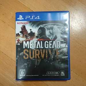 PS4ソフト メタルギア サヴァイブ アクション 中古品