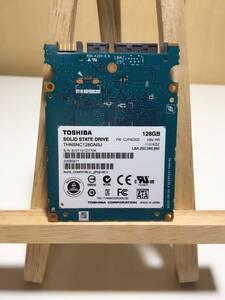 TOSHIBA THNSNC128GNSJ SATA 128GB中古 SSD 2.5インチ 動作品