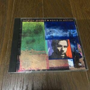 ジャクソン・ブラウン ワールド・イン・モーション 国内盤CD