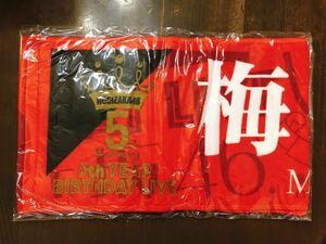 乃木坂46 梅澤美波 5TH YEAR BIRTHDAY LIVE 個別 推しメン マフラータオル ( 5th year birthday live ) 新品 未開封 バスラ