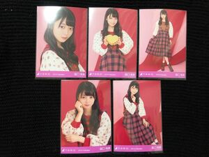 乃木坂46 2019 Valentine 阪口珠美 個別 生写真 5種 コンプ バレンタイン