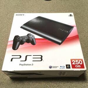 PS3本体 CECH4000B チャコールブラック 250GB+ソフト5本
