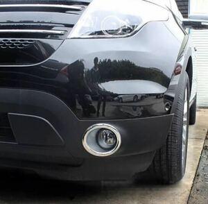 フォード エクスプローラー フォグランプ クローム カバー 2011y~2015y 両面テープ付き