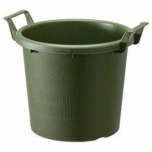 ☆即決 ♪遊び心のあるコンテナポット グロウコンテナ35型 グリーン カラー変更可能◆寄せ植え ギャザリング 草花 多肉植物 観葉植物