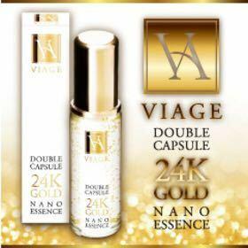 ヴィアージュ 美容液 先端Wカプセル処方 純金 リフトエッセンス 超微粒子  ツヤ 潤い アンチエイジング コスメ しわ キメ 肌理