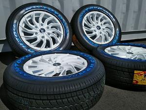 車検対応 HIACE 200系 ハイエース レジアスエース タイヤホイール 新品4本セット 16インチ オルフェ TOYO H20 215/65R16