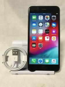 【SIMロック解除済】iPhone6s plus 32GB スペースグレー シャッター音なし 海外版 simフリー 送料無料 YZX203
