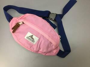USA製 グレゴリー テールメイトXS 薄ピンク ボディバッグ