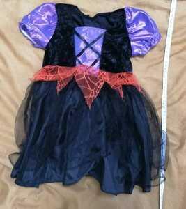 ハロウィン衣装 コスプレ 魔女 魔法使い 子供用 used品 ゆうパケット 返品対応可能 写真をよくご確認ください