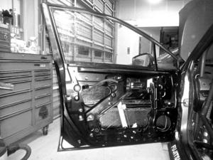 【M's】SUBARU WRX S4/STI (2014.8-) DAMD ライト・ウェイト・ドア 1枚// FRP(カーボン複合) 未塗装 ダムド エアロ VAG VAB