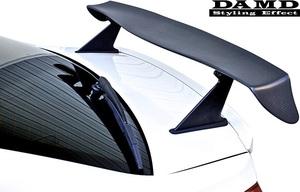 【M's】スバル WRX S4/STI (2014.8-) DAMD レーシングリアウイング// FRP 未塗装 ダムド エアロ VAG VAB リヤウイング リアウイング