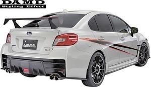 【M's】SUBARU WRX S4/STI (2014.8-) DAMD レーシングリアウイング// FRP 未塗装 ダムド エアロ VAG VAB リヤウイング リアウイング