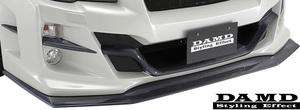 【M's】SUBARU WRX S4/STI (2014.8-) DAMD フロントアンダースポイラー// カーボン ダムド エアロ VAG VAB フロントリップスポイラー
