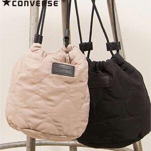 ◆converse◆リバーシブル キルティング バッグ