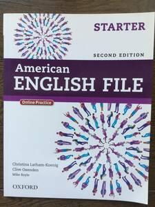 American English File 英会話テキストブック/オンラインプラクティス 初級