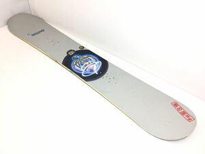 #1256◆送料120サイズ/BURTON バートン Custom カスタム 156cm 1999年モデル スノーボード スノボ 板 中古◆
