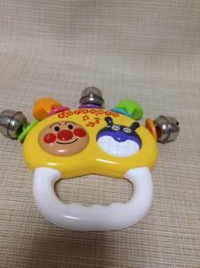 それいけアンパンマン すずのおもちゃ 幼児用 アンパンマン&ばいきんまん 鈴/玩具
