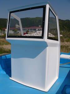 新品未使用 コンパクト操舵 センターコンソール  ブリッジ 運転台 漁船 和船 ボート マニュアル操舵~リモコン仕様船