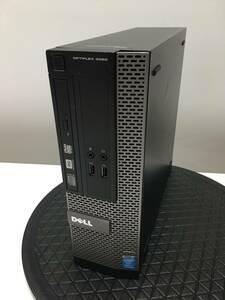 A15821)大容量 Dell OPTIPLEX 3020 PC本体 搭載Intel Core i3-4130 3.40GHz/8GB/2TB/DVDRW/Win10 Pro 64Bit