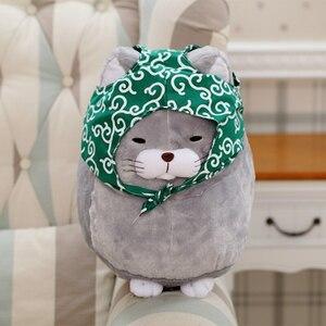 かわいい♪猫 泥棒 40cm ぬいぐるみ 人形 おもちゃ 子供 インテリア 癒し プレゼント ギフト キッズ ネコ ねこ ka444