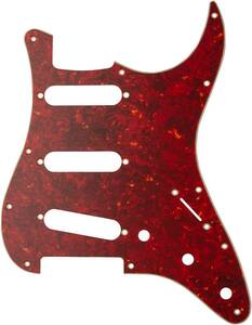 Fender(フェンダー) Classic 70s Stratocaster 11-Hole 4-Ply Red Tortoise Shell 純正ピックガード Fender Japan フェンダー・ジャパン