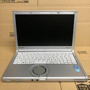 格安良品/ノートパソコン/Win10/Panasonic Let'snote CF-NX3/第四世代 i5 2.00GHz/Office2016/メモリ4GB/新品SSD240GB/12.1インチ/無線LAN