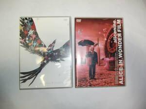 DVD alicenine. ALICE IN WONDR FILM アリス九號. NUMBER SIX. 2枚 セル品 送料198円