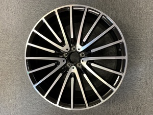 ベンツ X166 GL GLS AMG 22インチ スポークホイール ポリッシュ/ブラック 純正品 GL63 GLS63 GLS550 ホイール アルミホイール AMGホイール