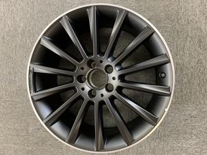 ベンツ W205 C43AMG 19インチ スポークホイール マットブラック 純正品 ホイール アルミホイール AMGホイール C43 S205 7.5J 8.5J
