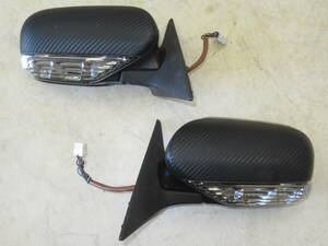 preliminary for . processing base and so on! Subaru BP5 Legacy Wagon original turn signal attaching door mirror left right set secondhand goods MCP-1330