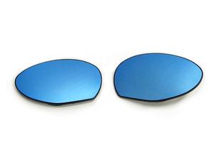 * exchange type ALFA147 Alpha Romeo 147 blue mirror wide view door mirror lens [006821]