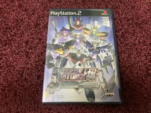 PS2 プレイステーション2 ソフト カセット スーパーロボット大戦 Scramble Commander
